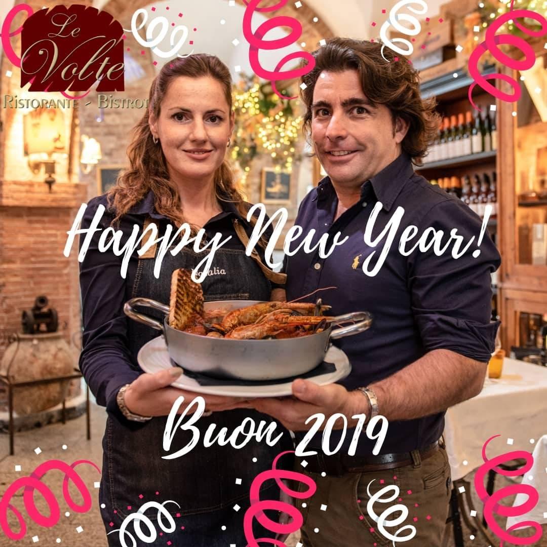 2019 - Il Ristorante Le Volte vi augura un felice 2019