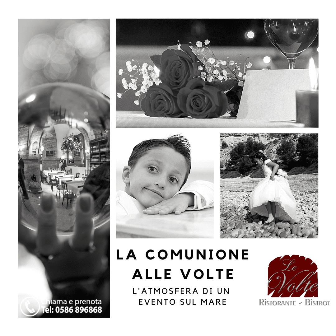 COMMUNIONE 1 - La comunione del tuo bambino al Ristorante Le Volte