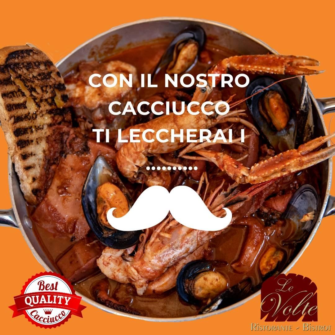 Cacciucco baffi - Ristorante di pesce a Livorno: col nostro cacciucco ti lecchi i baffi