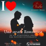 Cena romantica 2020 150x150 - Le Volte, il ristorante perfetto per una serata romantica
