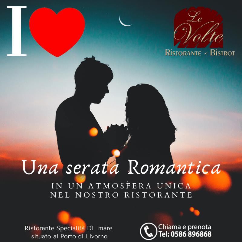 Cena romantica 2020 - Le Volte, il ristorante perfetto per una serata romantica
