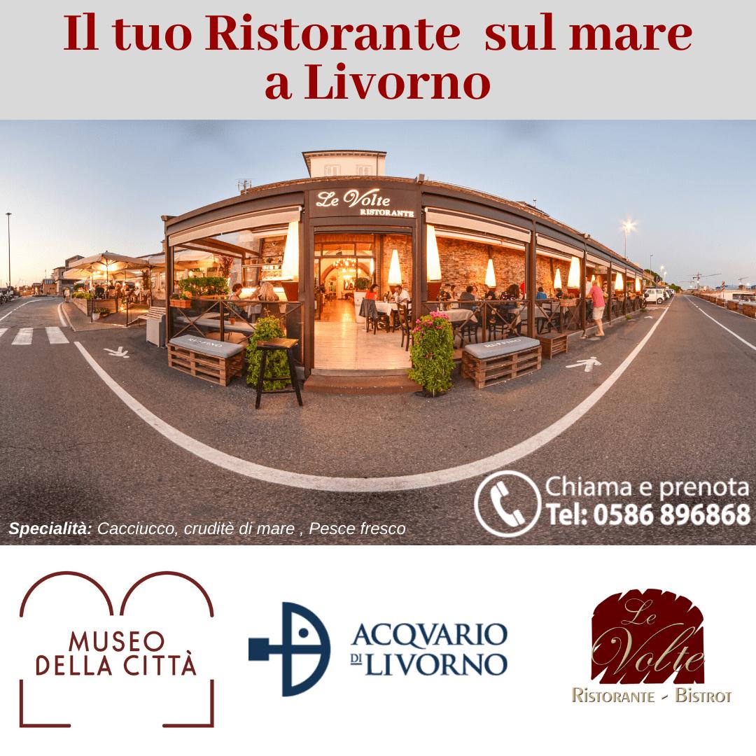Ci troviamo - Ristorante Le Volte, il tuo ristorante sul mare a Livorno