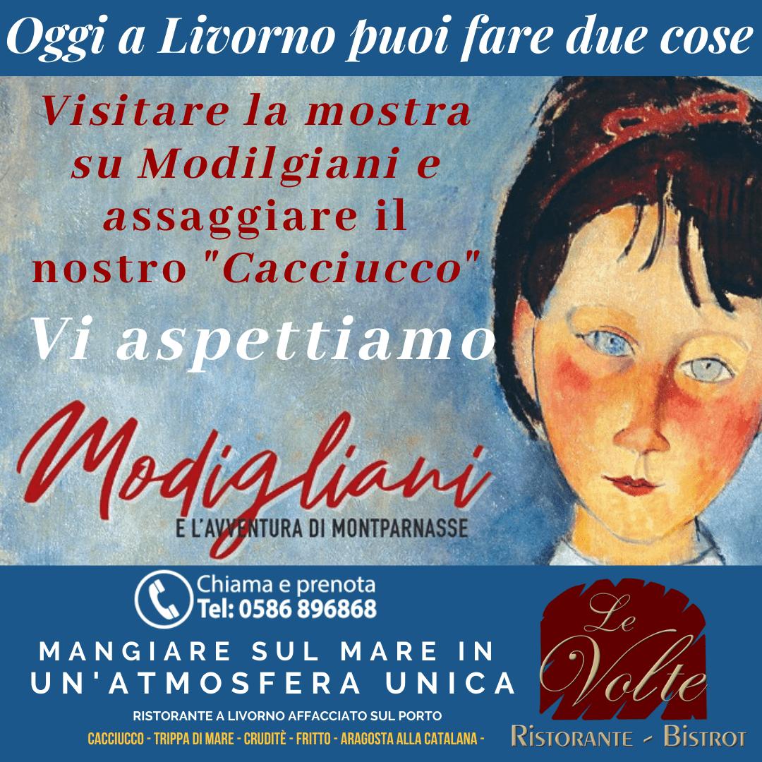 Copy of cacciucco modi - Visita Modigliani, e assapora il cacciucco del Ristorante Le Volte