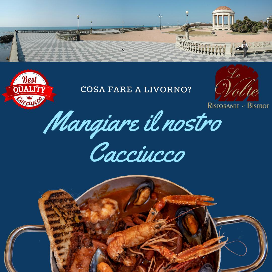Cosa fare a Livorno - Cosa fare a Livorno? Mangiare il cacciucco nel nostro ristorante di pesce