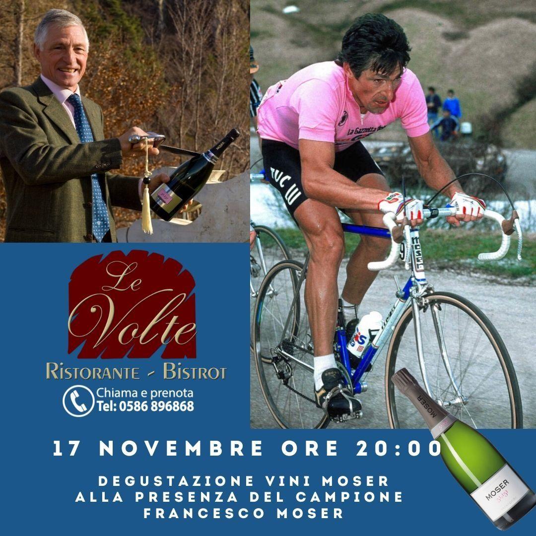 Moser - Francesco Moser: una degustazione coi vini del campione
