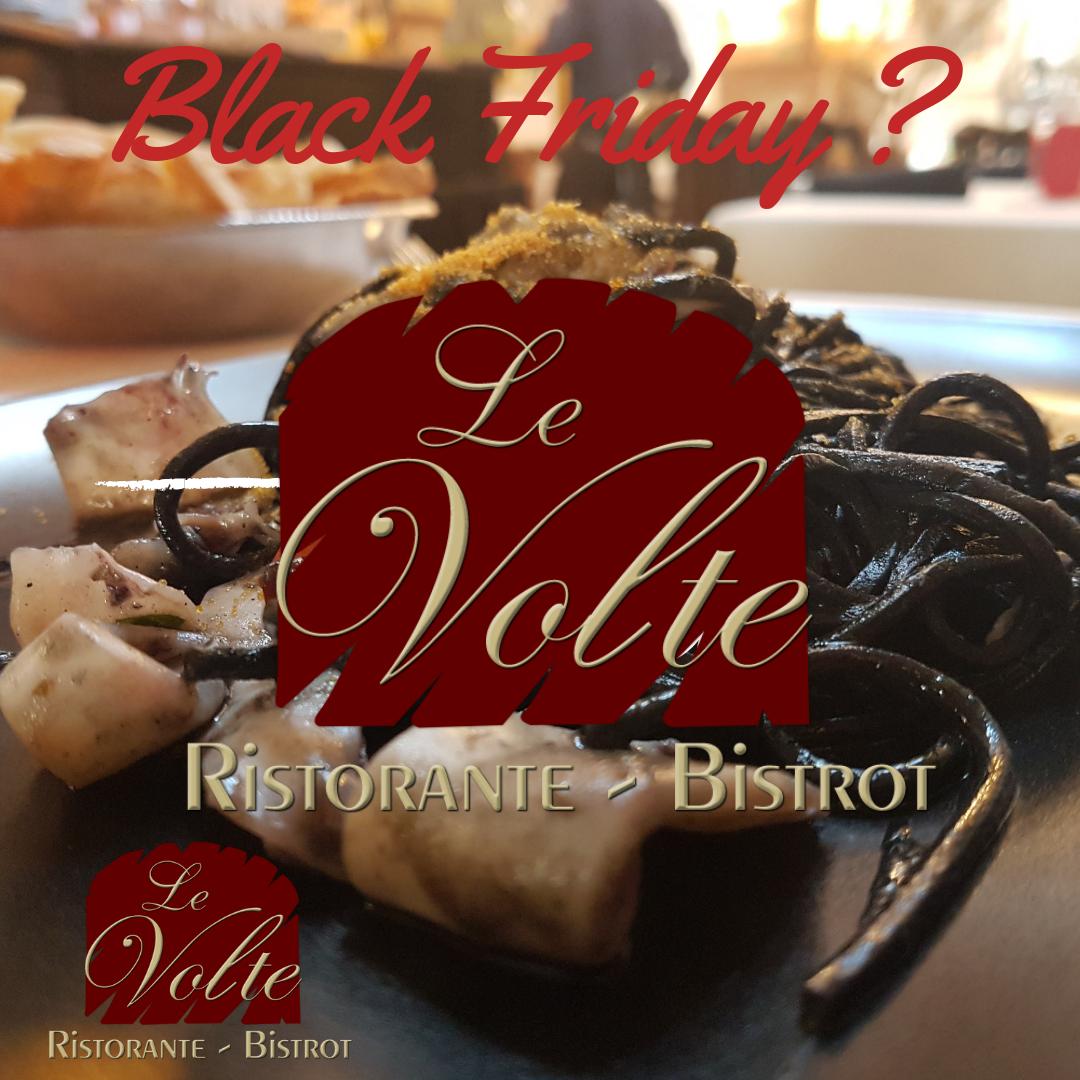 black pasta - Nostalgia da Black Friday? Da noi di nero ci sono solo gli spaghetti!