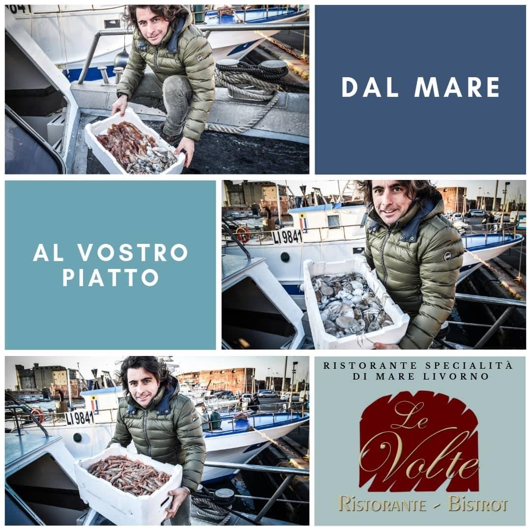 dal mare al piatto - A Livorno, il pesce fresco si mangia al Ristorante Le Volte