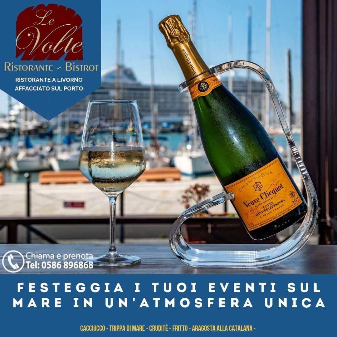 festeggia clicquot - Festeggia i tuoi eventi al Ristorante Le Volte
