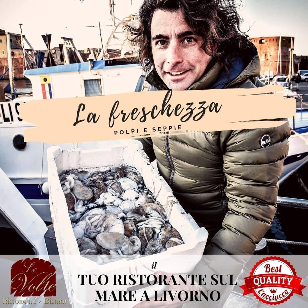 la freschezza - Nel tuo ristorante di mare a Livorno, il pesce è sempre freschissimo