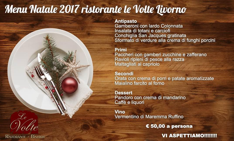 menu natale - Il tuo pranzo di Natale alle Volte