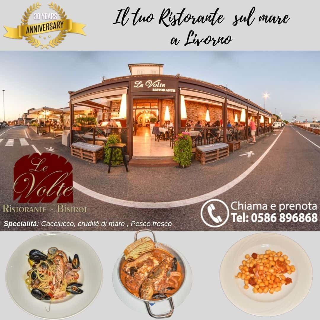 trittico - Il gusto del Ristorante Le Volte, a 360°